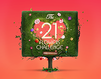 21 Flowers Challenge - Mall Of Arabia
