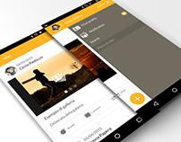 Triboom Hybrid Mobile App - Prototype