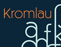 Kromlau [Typeface] - 2019