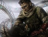 Venom Snake of MGSV - Fan Art Fifteenth