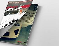 Magazine Design #1 Road Engine - 2011