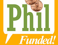 Philacracy - Crowdfunded Philanthopy Startup Graphics