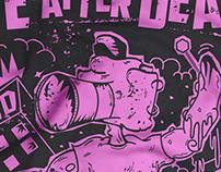 L.A.D. t-shirt iIllustration & design