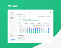 AI analyst - Web app