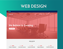 MISCOPE : A Bussiness Web Design