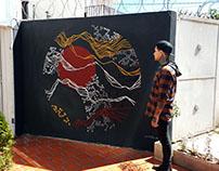 Murales en Millers Tattoo Studio
