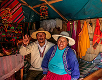 La vida en el Lago Titicaca - Uros y Taquile