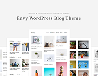 ENVY - Clean & Minimalist WordPress Blog Theme
