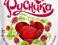 "Design of concept sweets TM ""Rusnika"""