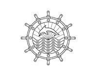 Dolphin Sail Club (logo sample)