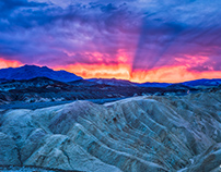 Death Valley - Zabrinski Point