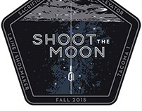 Poster and Logotype for Shoot the Moon