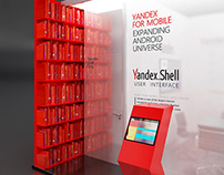YANDEX booth concept