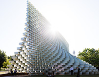 Serpentine Gallery Pavilion 2016 LONDON UK