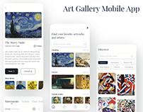 Art Gallery Mobile App