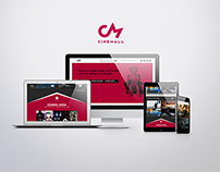 Cinemall [Website Design]
