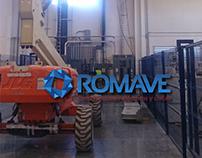 Diseño para redes sociales de la empresa ROMAVE