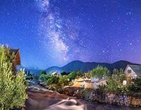 Milky Way Kirgizstan