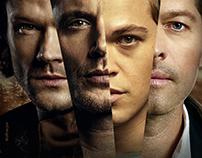 SUPERNATURAL series finale (unofficial poster design )