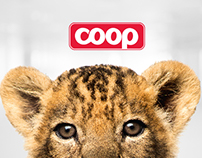 Animal sticker album - Coop online campaign 2014