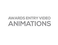 2016 AWARD ENTRY ANIMATIONS