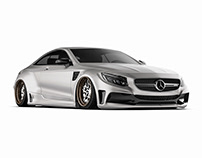 Mercedes-Benz S63 coupe Widebody kit