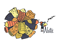 Nutx Socks - Packaging Design