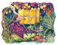 Watercolor illustrations 2015-2016