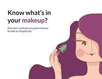 Illustration for Beauty Advertisement