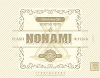 Nonami flash & nuema fonts