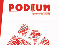 X-banners for awarding program of Podium IIUC