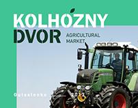 Kolhozhy Dvor. Identity for agricultural market