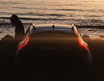 Volvo V40 Sunset session