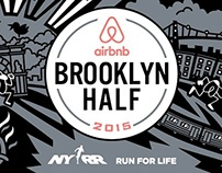 Airbnb Brooklyn Half: Brand, Signage, Race Essentials