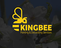 KingBee Logo Design