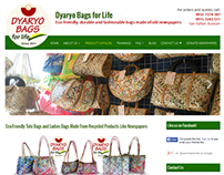 Web Design for an Eco-Friendly Business: Dyaryo Bags fo