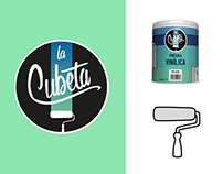 La Cubeta. (Branding + Packaging)