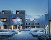Winter night in Norway, Arcasa arkitekter Norway