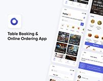 Table Booking & Online Ordering App