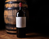 Calligraphy Wine Label - Great Wine