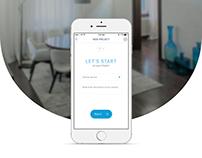 Home renovation service App for iOS