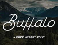 Buffalo : Free Monoline Script Font