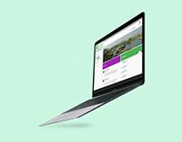 UI App design and Admin website