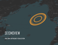 SEISMOVIEW : Real Time Earthquake Visualisation