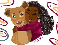 The Lion King - Iza and Nala