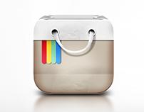 IOS Icon + logo design