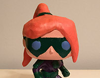 Gravity Girl custom Pop! figure