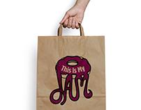 This Is My Jam: Jelly Donut Branding Identity