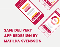 Safe Delivery App Redesign