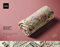 Rib Knit Fabric Mockup Set (19/FFv.11)